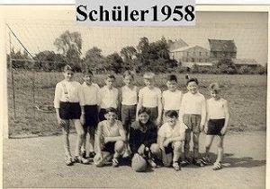 1958 Schülermannschaft