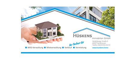 Hueskens_Immobilien Partner beim TuS Hochheim