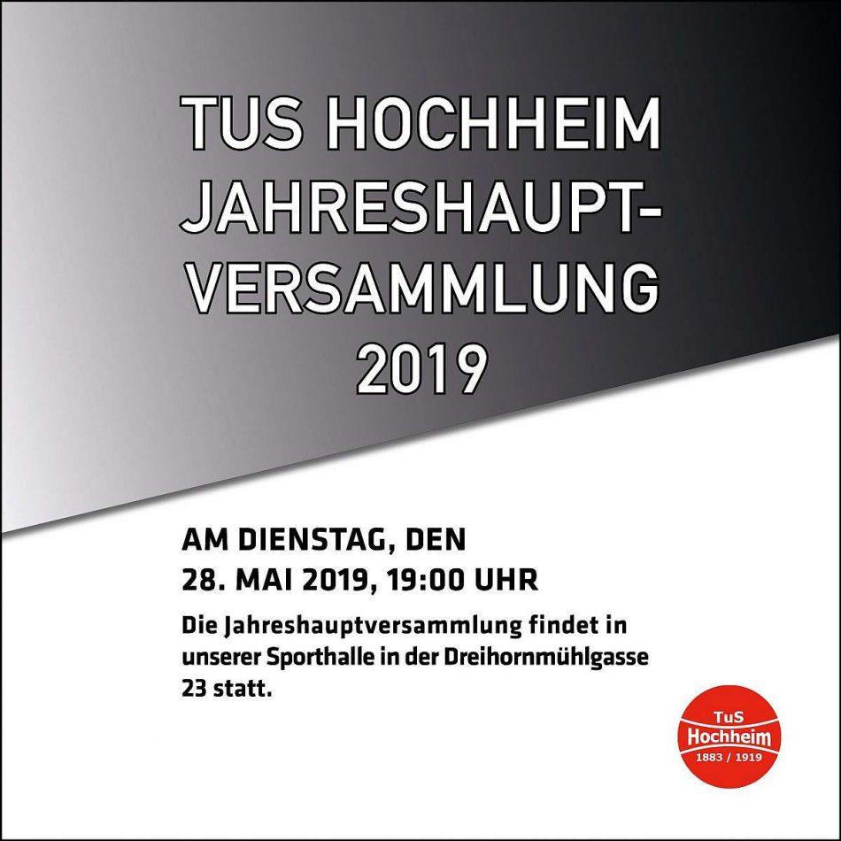 Jahrehauptversammlung2019 Tus Hochheim