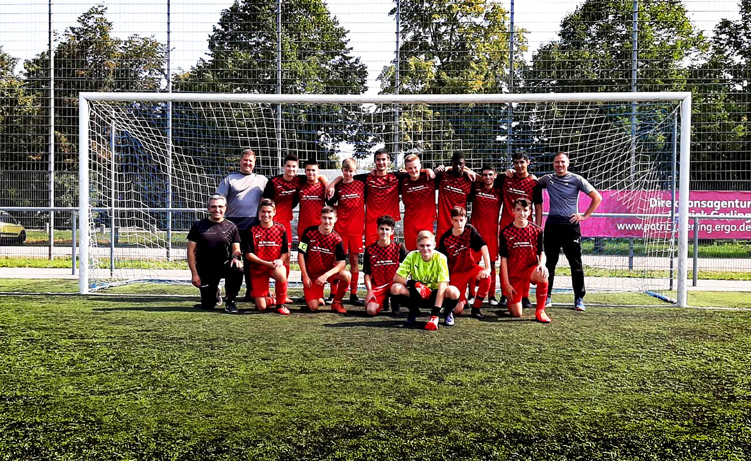 B-JUGEND TuS Hochheim 2021/22, Trainer: Daniel Nultsch, Andreas Seluga