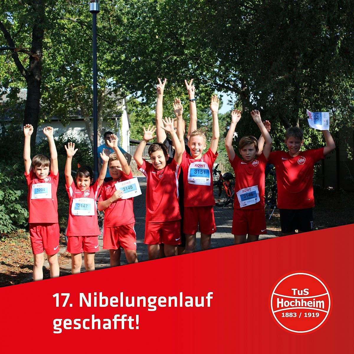 Nibelungenlauf 2020 und TuS Hochheim war dabei!