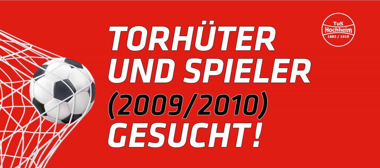Torhüter und Spieler gesucht bei TuS Hochheim